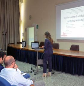 Ilaria Capozzi, ingegnere chimico di processi alimentari