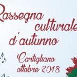 Rassegna culturale d'Autunno a Cartigliano