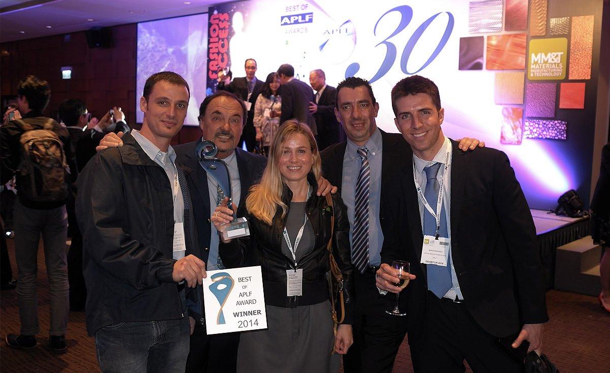 Officine di Cartigliano premiata a Hong Kong con il Best Innovation Process