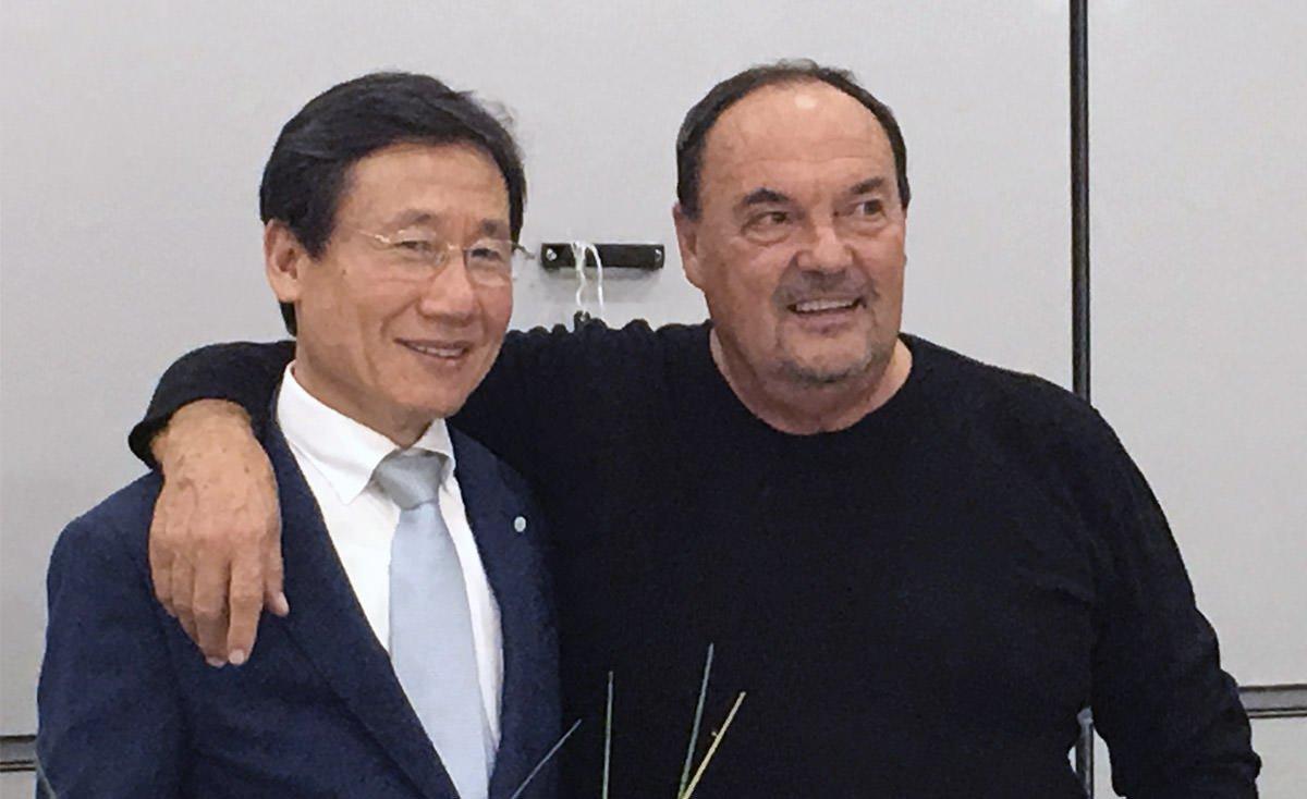 Celebrando Mr. Chung ed i suoi 30 anni di fedeltà a Officine di Cartigliano