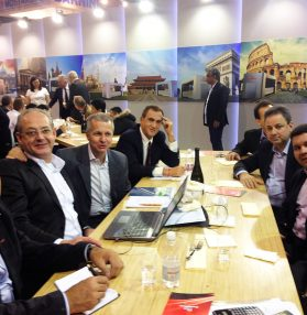 Officine di Cartigliano Spa | BS delegation at Tanning Tech 2015