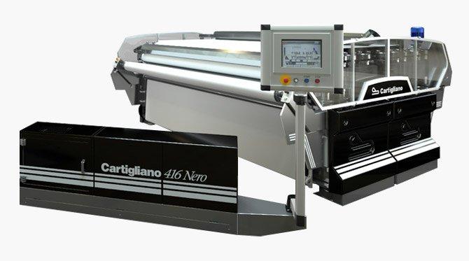 Officine di Cartigliano | Divisone Pelle - Palissoni - 416 NERO