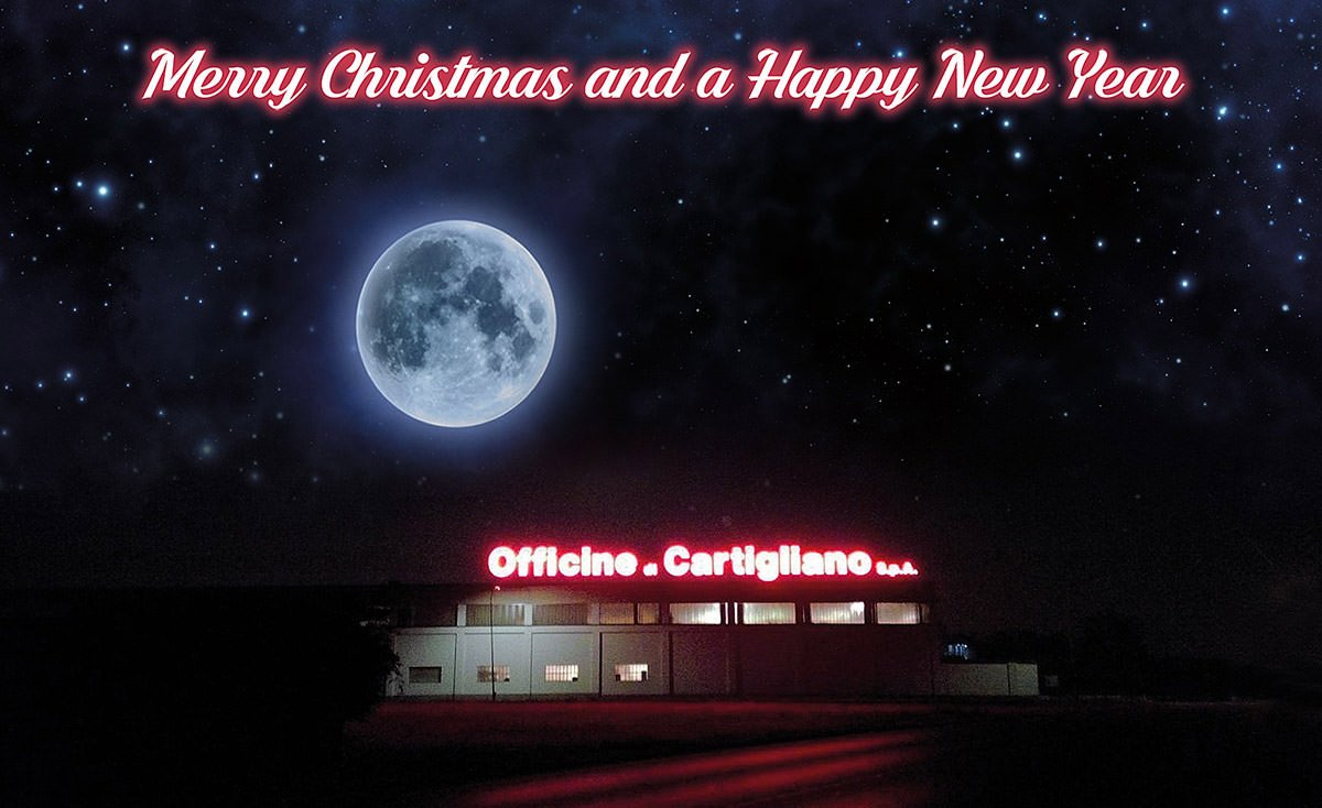 Merry Christmas and a Happy New Year from All Cartigliano Team