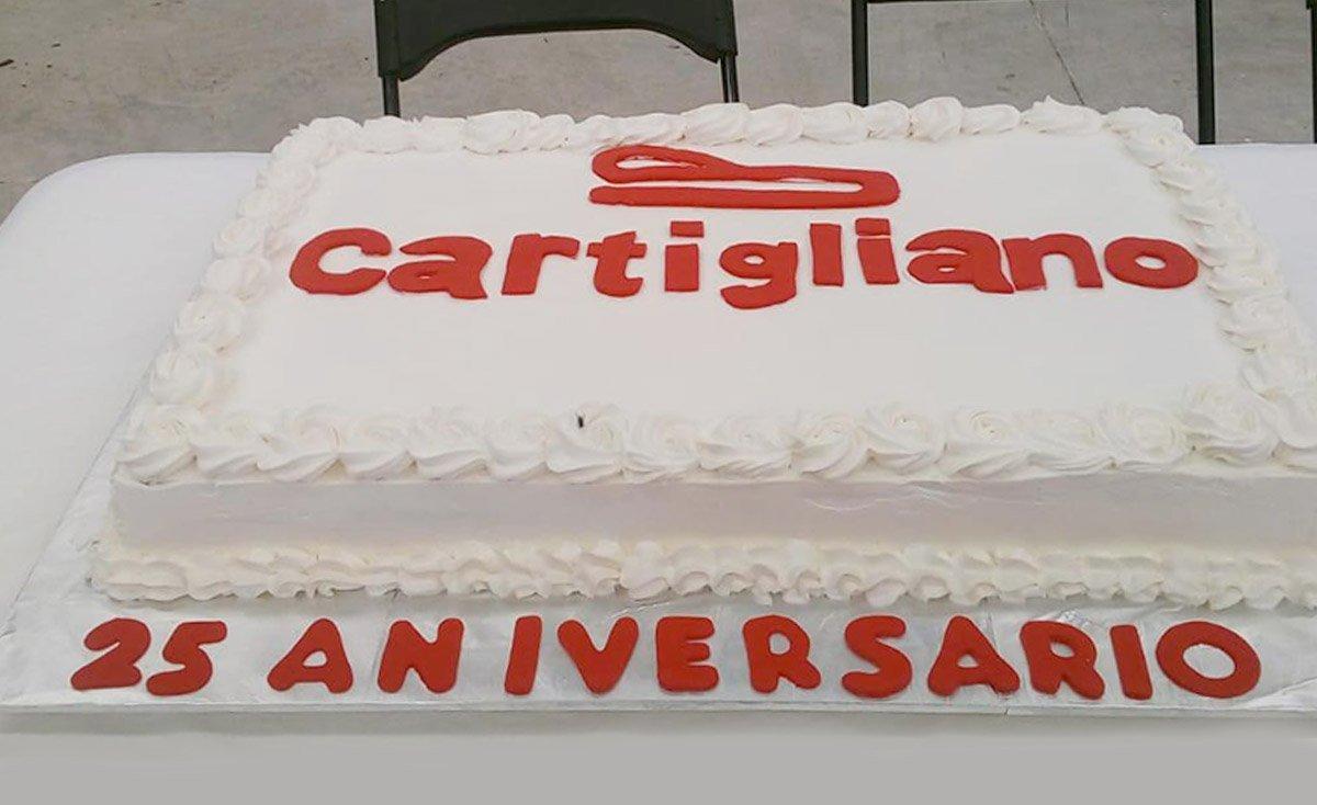 25° anniversario Cartigliano de Mexico