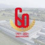 60 logo, cartigliano anniversary